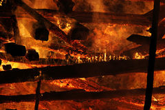 The big fire Royalty Free Stock Images