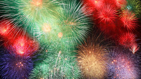 Big fireworks Royalty Free Stock Images
