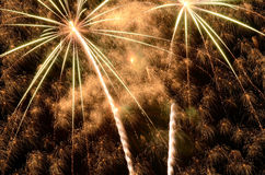 Big Fireworks Royalty Free Stock Image