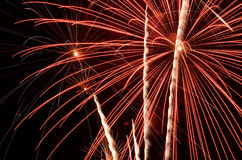 Big Fireworks Royalty Free Stock Photography