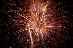Big Fireworks Stock Image