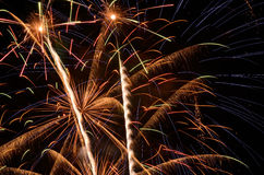 Big Fireworks Stock Photography