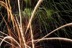 Big Fireworks Royalty Free Stock Photo