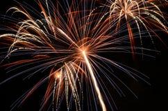 Big Fireworks Stock Photography