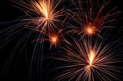 Big Fireworks Royalty Free Stock Photos