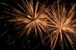 Big Fireworks Stock Images