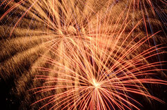Big Fireworks Royalty Free Stock Photo