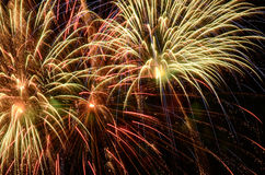Big Fireworks Stock Photo