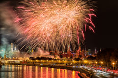 Big fireworks Stock Photos