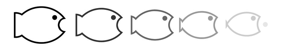 Big fish Royalty Free Stock Photos