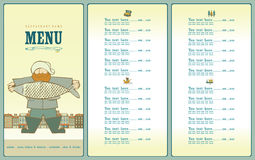 Fish cartoon menu stock photo image 31288790 for Big fish menu