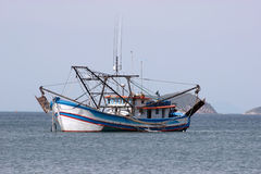 Big fishing boat Stock Image