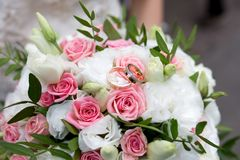 Big flower bouquet Royalty Free Stock Images