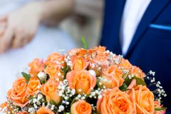 Big flower bouquet Royalty Free Stock Image