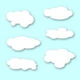 Big Fluffy Clouds Stock Photos