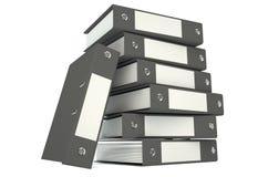 Big folder black Royalty Free Stock Photography