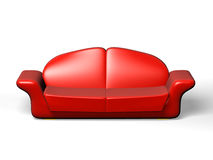Big folding sofa Royalty Free Stock Image