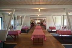 Big food court restaurant Stock Photography