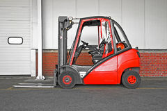 Big forklifter Royalty Free Stock Photography