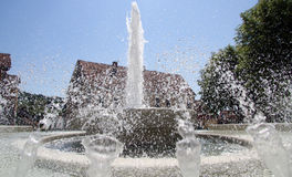 Big fountain Royalty Free Stock Photo
