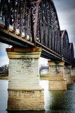 Big Four-Brücke stockbild