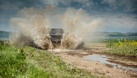 Big four by four off road car Stock Images