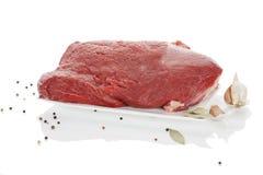Big fresh beef piece. Stock Images