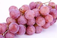 Big fresh grapes on white Stock Photo