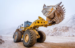 Big front loader Royalty Free Stock Image