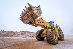 Big front loader Royalty Free Stock Photography