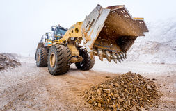 Big front loader Stock Photography