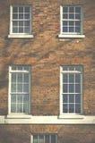 Big front windows in Islington London UK Stock Images