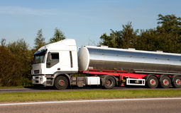 Big Fuel truck Stock Photos