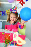 Big funny birthday party Royalty Free Stock Photography