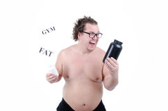 Big funny guy Stock Images