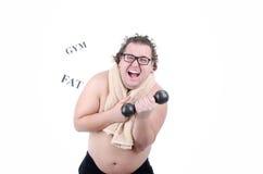 Big funny guy Stock Photo