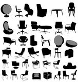 Big furniture collection Royalty Free Stock Photography