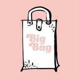 Big gag concept vector. Sketch illustration vector illustration