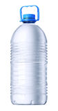 Big gallon plastic bottle. Gallon plastic bottle of water. Isolated on white royalty free stock photos