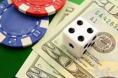 Big gamble Stock Image
