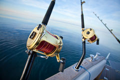 Big game fishing Royalty Free Stock Photos