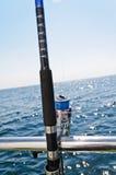 Big game fishing reel Royalty Free Stock Photos