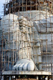 Big ganesha statue under construction Royalty Free Stock Photos