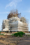 Big ganesha statue under construction Stock Images