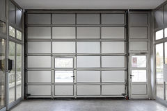 Big garage door Royalty Free Stock Image