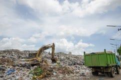 big garbage heap Royalty Free Stock Images