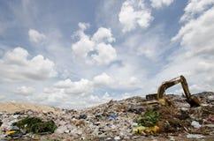 Big garbage heap Stock Photography