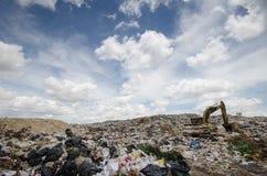 Big garbage heap Stock Images