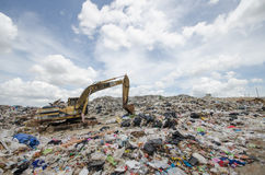 Big garbage heap Royalty Free Stock Photography