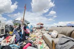 Big garbage heap Stock Photo